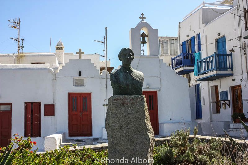 A church on Mykonos Greece