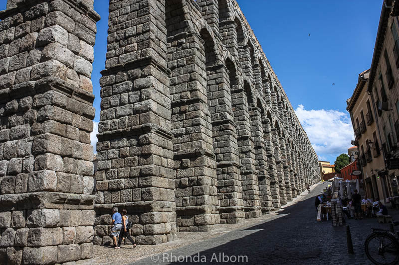 One of the world's most complete Roman aqueducts.