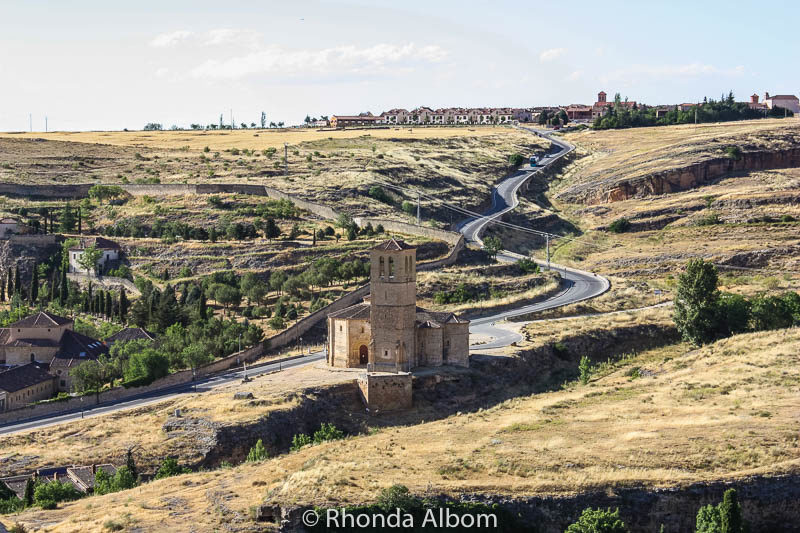A view from the castle of Segovia Spain
