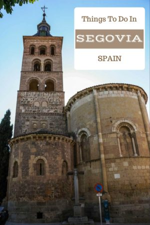 The medieval section of Segovia Spain is a masterpiece.