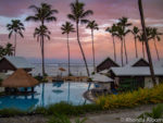 Sunrise in Samoa at Saletoga Sands Resort