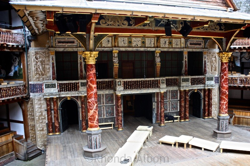 Setting the Stage a the Globe Theatre