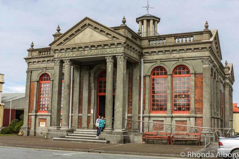 Hokitika town library, New Zealand