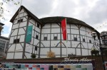 Touring Shakespeare's Globe Theatre in London