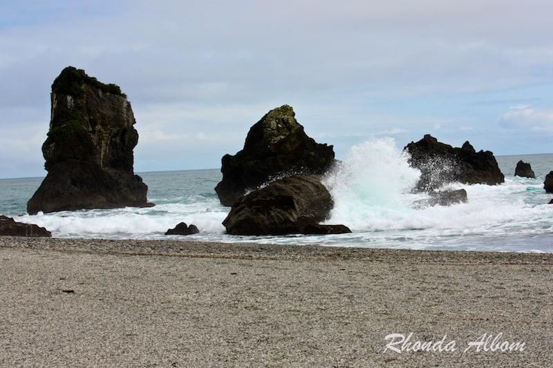 Monro Beach on the west coast of New Zealand's South Island