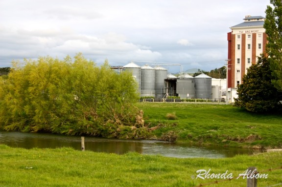 Tui Brewery on the Mangatainoka River, North Island, New Zealand