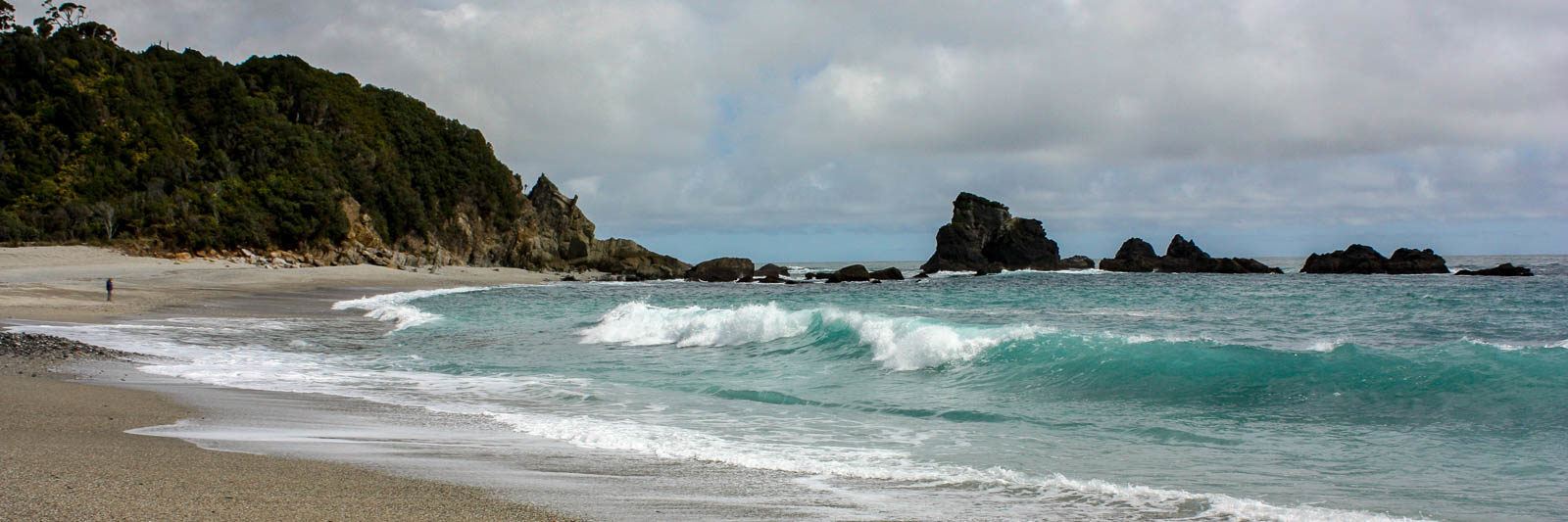 Monro Beach on the West Coast of the South Island of New Zealand