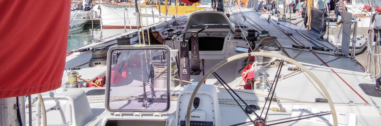 Steinlager 2 maxi yacht
