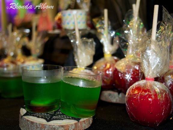 Snacks available at MOTAT on Halloween night