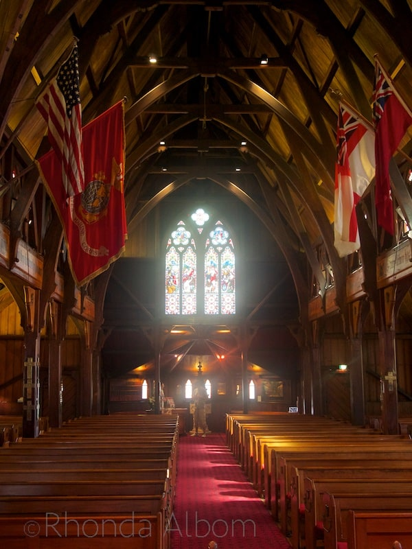 Old St. Paul's Cathedral in Wellington New Zealand