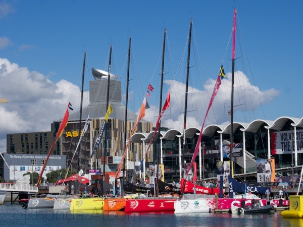 The New Zealand stop over of the Volvo Ocean Race.