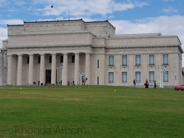 Auckland Museum in New Zealand