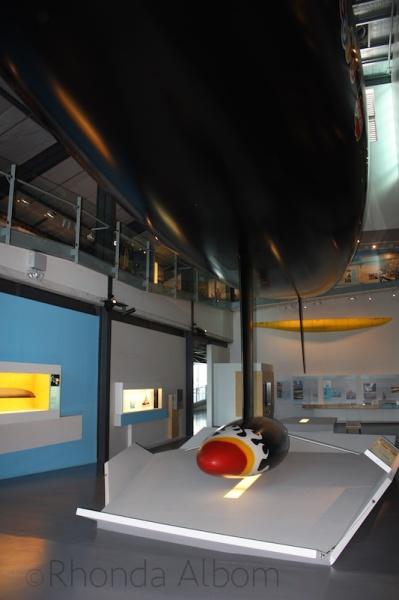 """Blue Water, Black Magic"" Exhibit Voyager, Auckland Maritime Museum, New Zealand"
