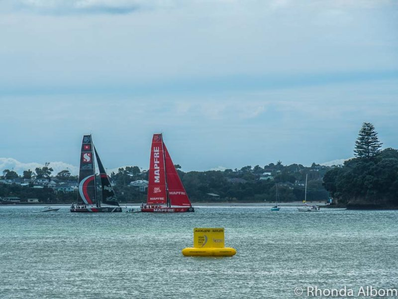 Volvo Ocean Race Auckland New Zealand stop over