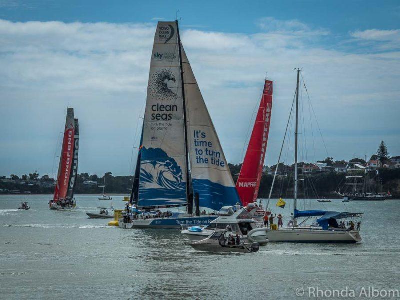 Auckland stopover Volvo Ocean Race