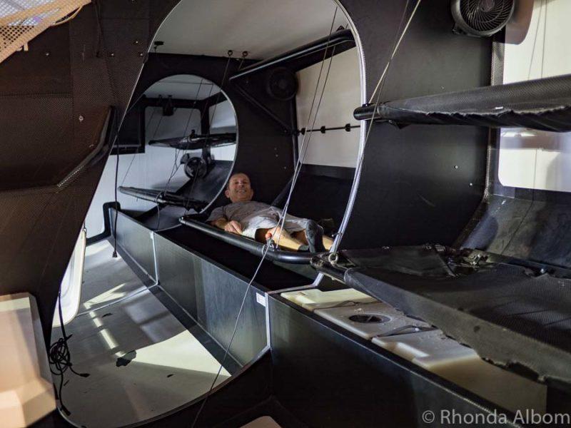 Inside a Volvo Ocean Race yacht