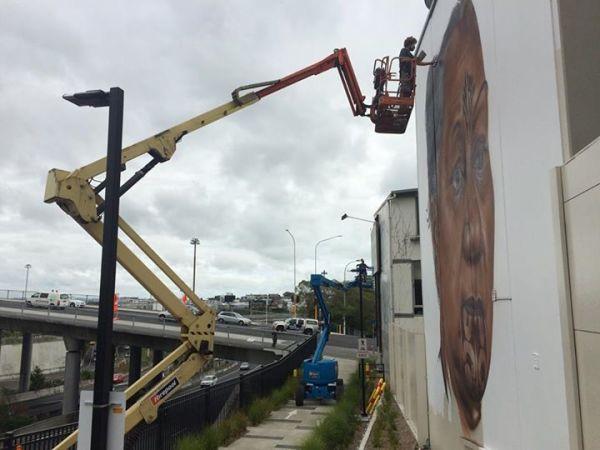 All Fresco Art Festival on K-Road, Auckland New Zealand