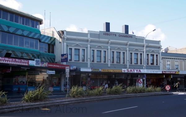 Karangahape Road in Auckland New Zealand