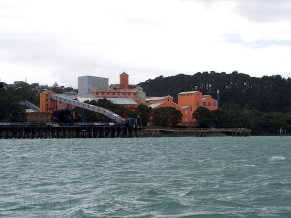 Chelsea Sugar Refinery, Auckland, New Zealand