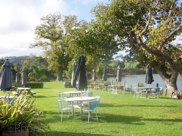 Grounds of Riverhead Tavern, Auckland, New Zealand