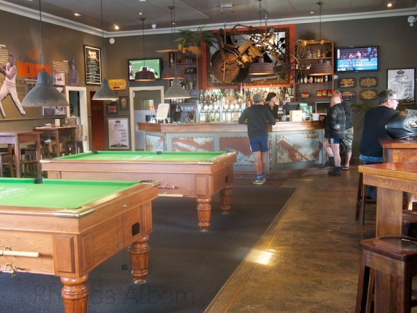 The Portage Bar at the Riverhead Tavern, Auckland, New Zealand