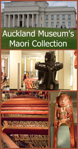 The Māori collection of Auckland Museum - for more information visit Albom Adventures