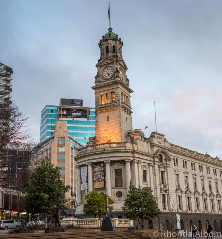 Auckland Town Hall in Aotea Square, Auckland New Zealand