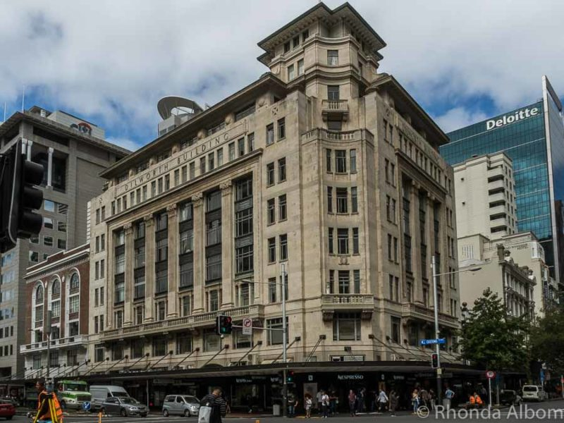 Dilworth Building on the corner of Queen and Customs Street in Auckland New Zealand