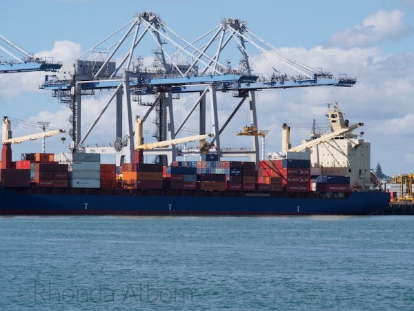Gantry in operation in Auckland New Zealand