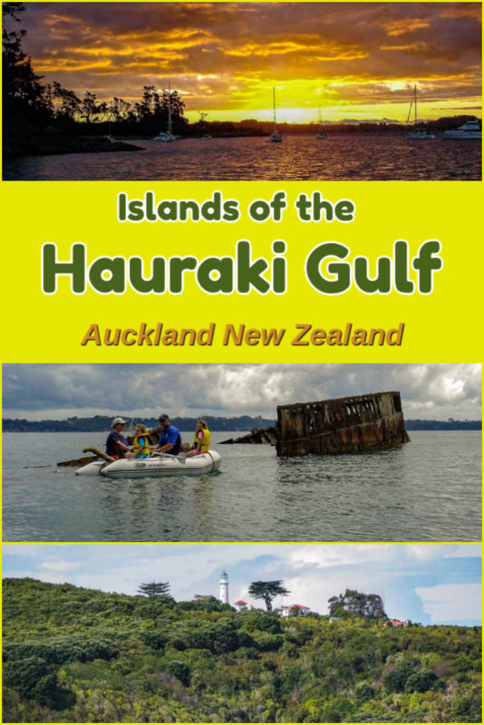 With over 50 Islands of the Hauraki Gulf off Auckland New Zealand, there is something for everyone from nature lovers to those who just want to relax.