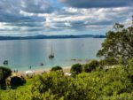 Motuora Island - one of the islands of the Hauraki Gulf near Auckland New Zealand