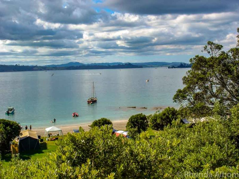 Motuora Island - one of the islands near Auckland New Zealand