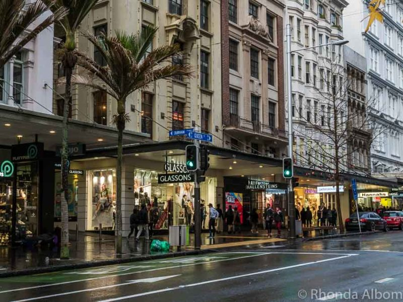 Queen Street Auckland New Zealand