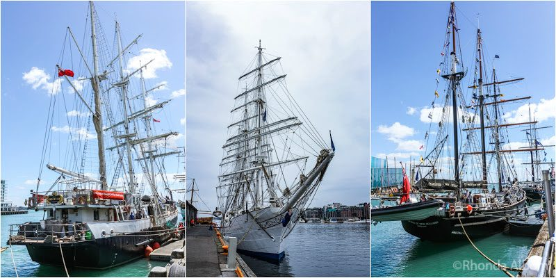 Tall Ship festival in Auckland New Zealand