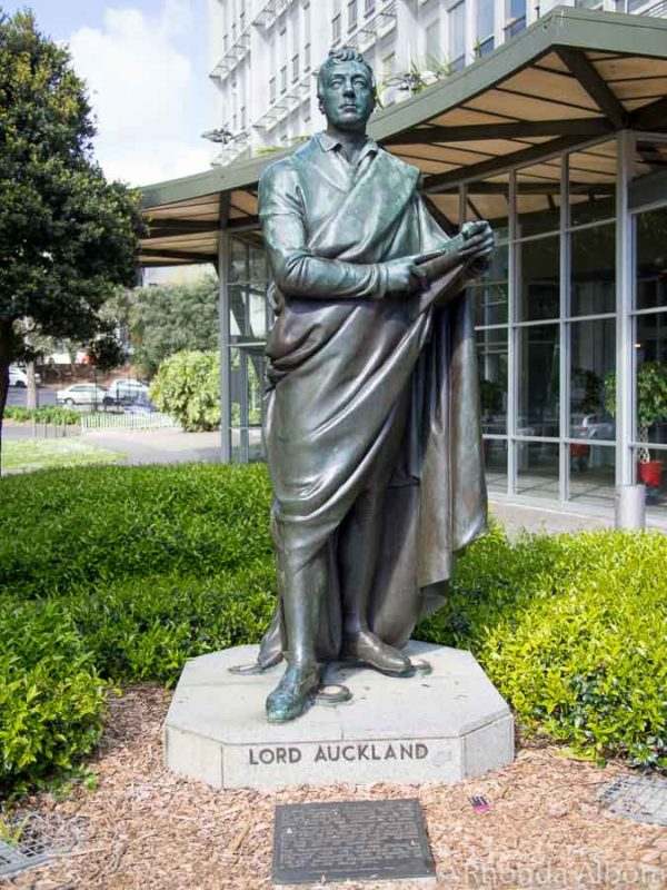 Statue of Lord Auckland - George Eden - the first Earl of Auckland)