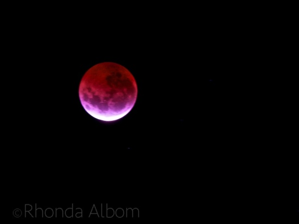 Blood moon on April 4 2015