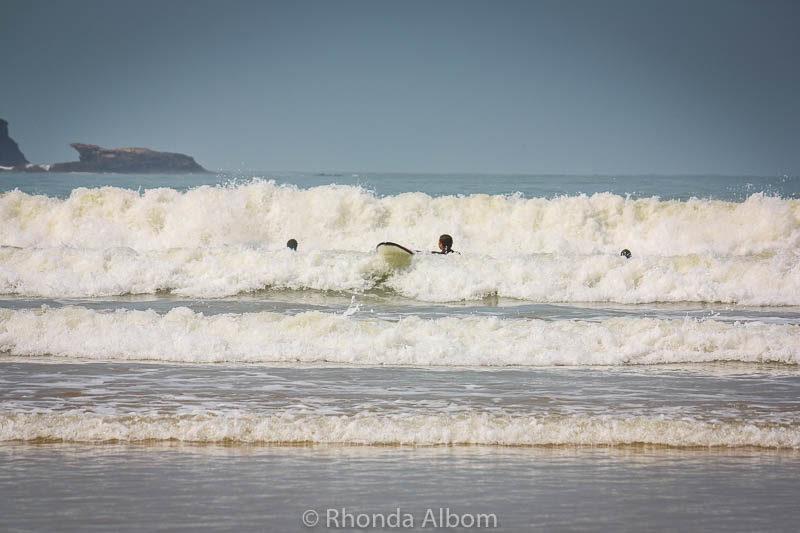 Essaouira surf, on the beach in Essaouira Morocco