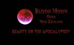 Blood moon over New Zealand