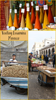 Essaouria in Morocco is a small coastal town with a vibrant and colorful culture. For more information, and more pictures, visit the blog.