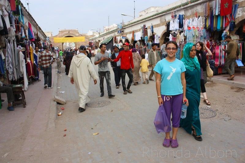 Souks in the Medina of Essaouira Morocco