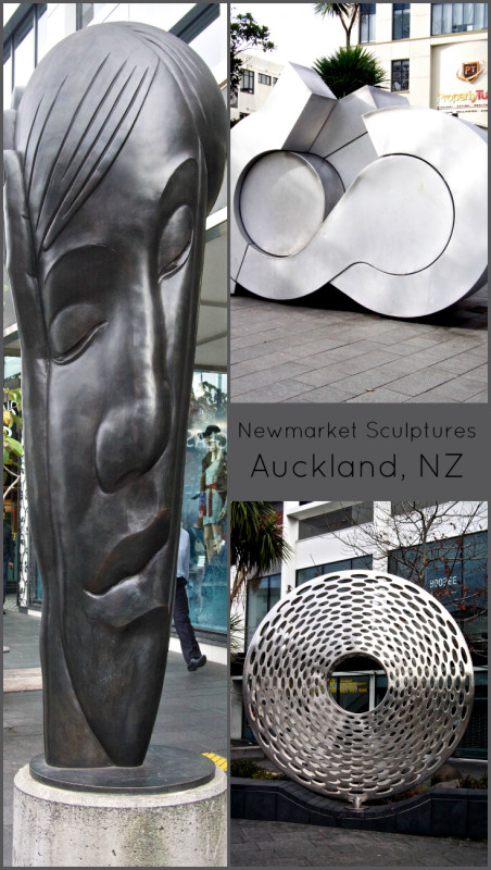 Seeing the impressive and modern sculptures dotted around Newmarket in the Auckland area, New Zealand, was a treat! For more photos, and information of these works, visit the blog.