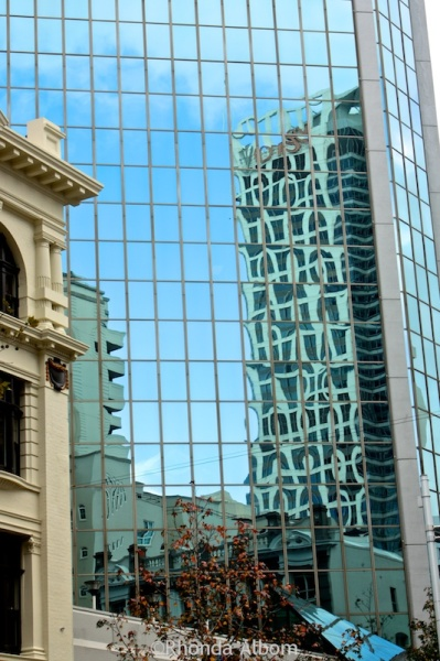 Reflections of Auckland New Zealand