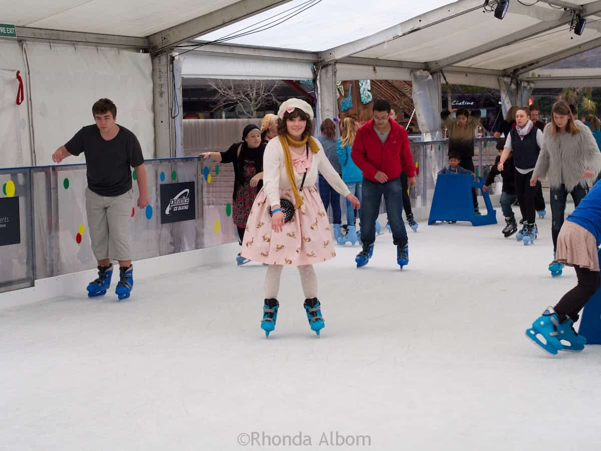 Roller skating new zealand - Auckland Ice Skating In Aotea Square New Zealand