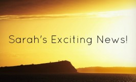 Sarah's exciting news and launch of Sarah Albom Photography