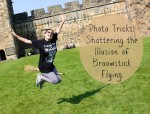 broomstick flying photo tricks