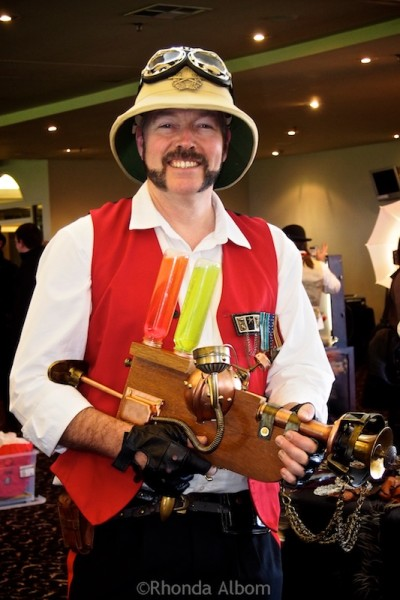 Aethercon Steampunk Convention 2015 Auckland New Zealand