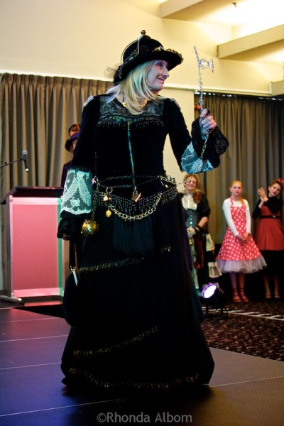 Entry in the costume contest at Aethercon Steampunk Convention 2015 Auckland New Zealand