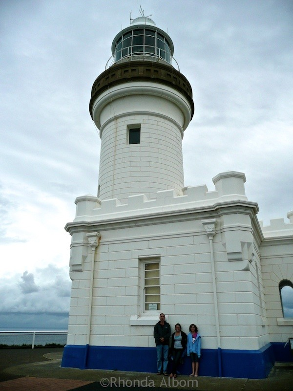 Lighthouse at Cape Byron Headland Reserve, NSW Australia