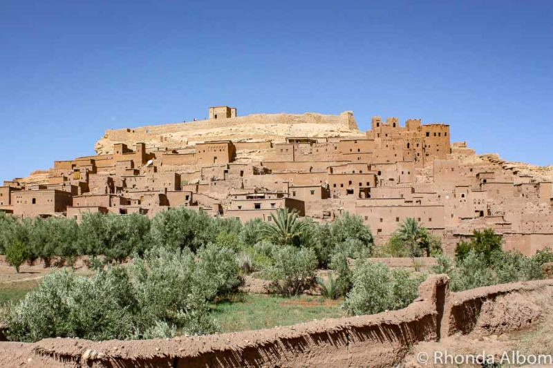 Kasbah in Ait Ben Haddou Morocco