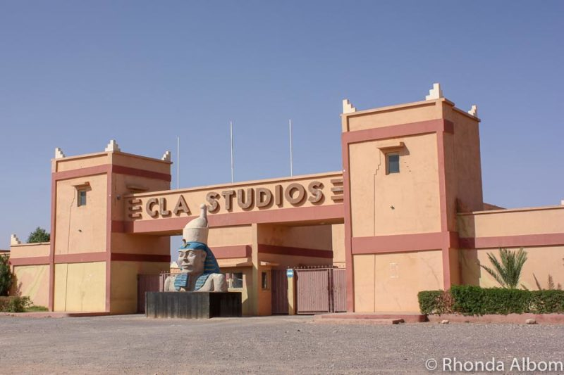 Elca Studios in Ouarzazate is where many of the movies filmed in Morocco are made.